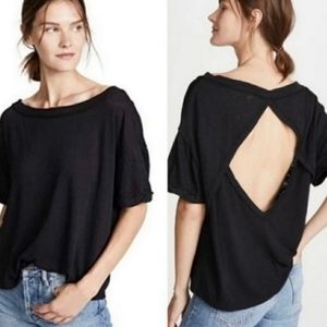 We The Free Viola Open Back Oversized Tee